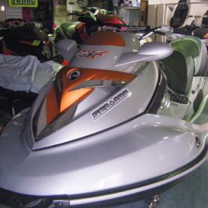 SeaDoo RXT-X 255 RS 300馬力チューニング艇
