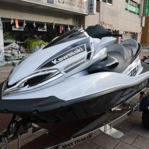 中古 Kawasakiカワサキ ジェットスキー ULTRA310LX ホワイトメタリック