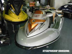 SeaDoo RXT-X255 チューニング艇