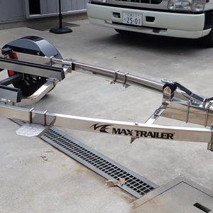 タイトジャパン MAX TRAILER オールステンレス 普通車仕様 美品